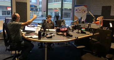 CBC RADIO GETS A TASTE OF A MATTER OF WILL